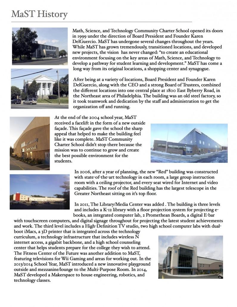 MaST History PDF