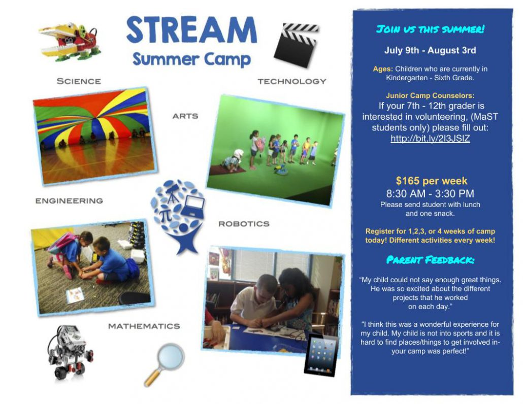 stream summer camp registration mast community charter school. Black Bedroom Furniture Sets. Home Design Ideas