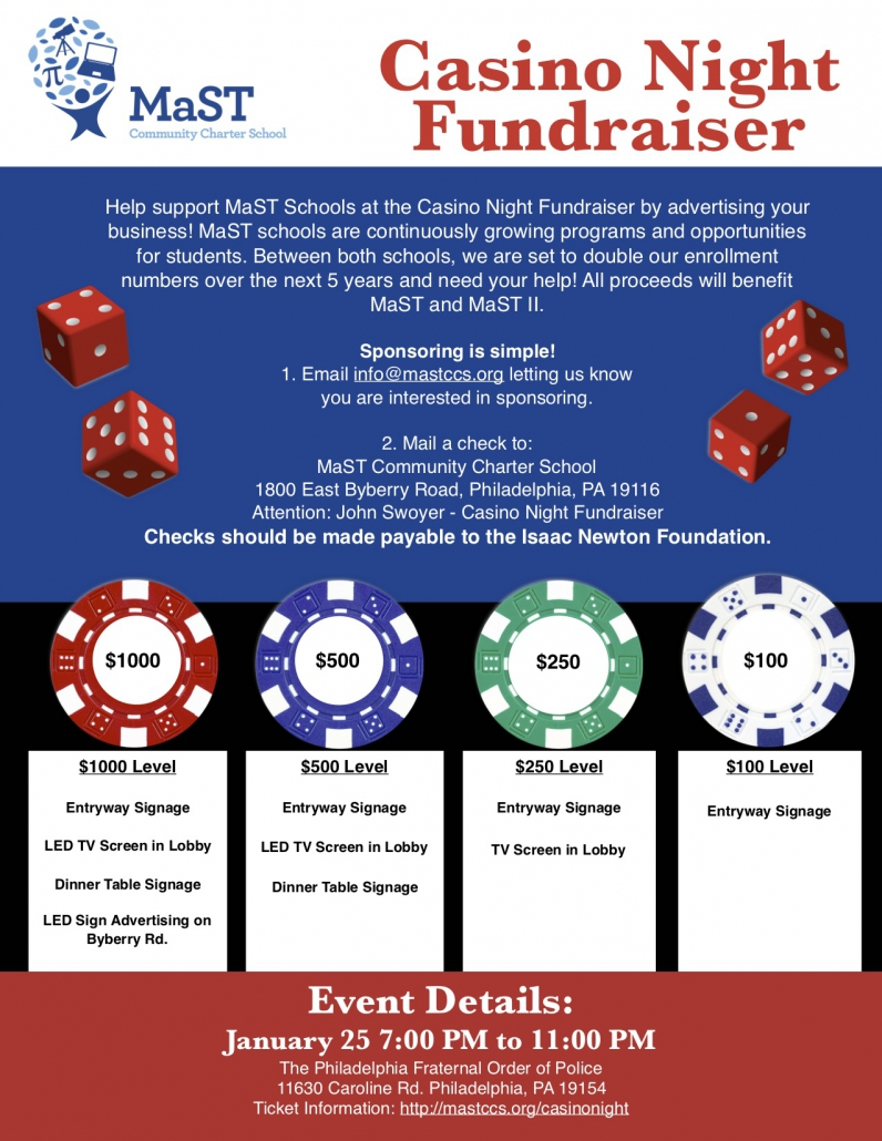 casino night fundraiser sponsors  u2013 mast community charter